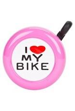BELL I LOVE MY BIKE PINK