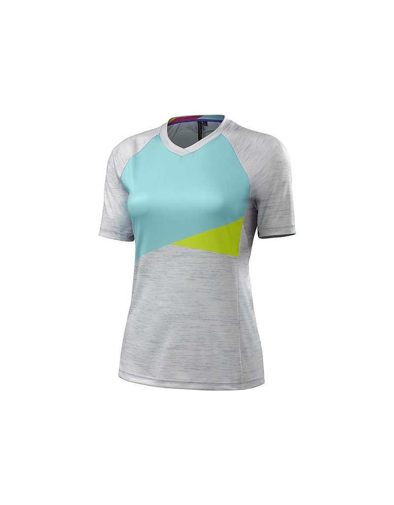 Specialized JERSEY WOM SPEC ANDORRA GREY/TEAL MD