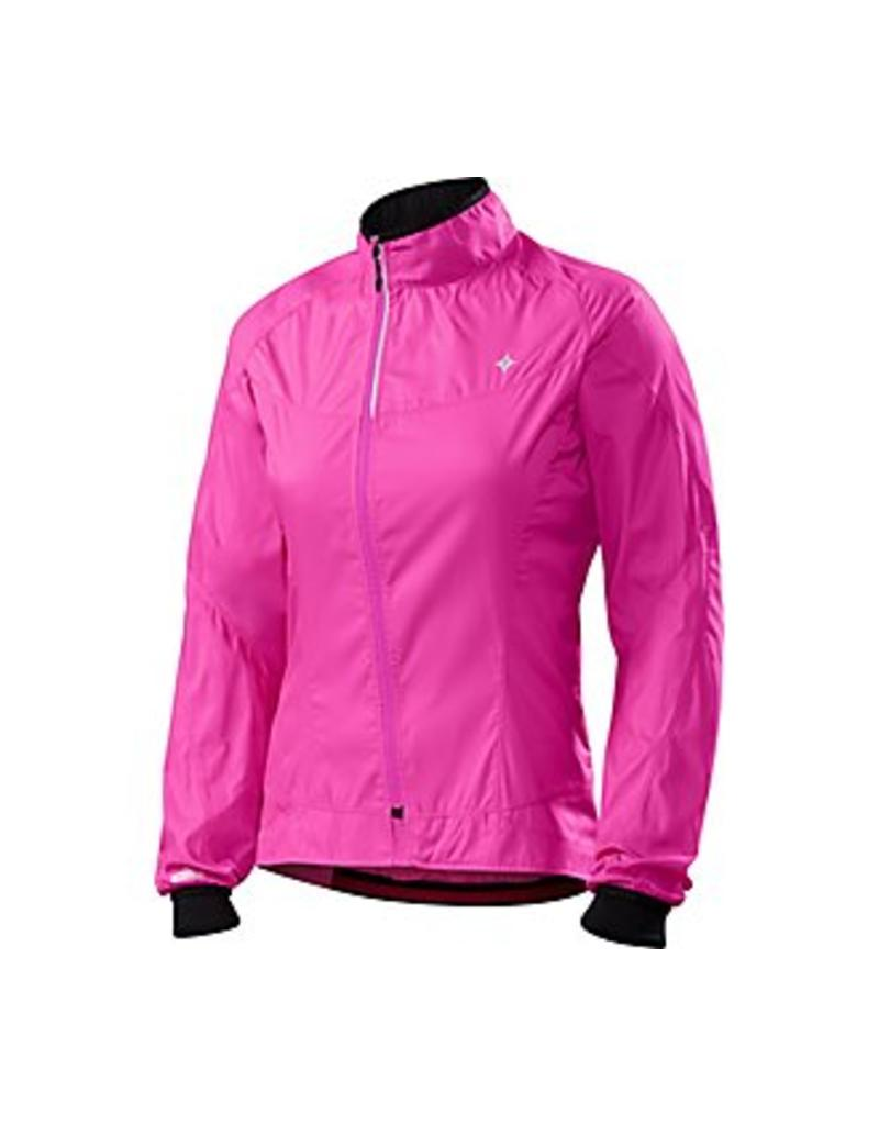 JACKET WOM SPEC DEFLECT COMP PINK MD