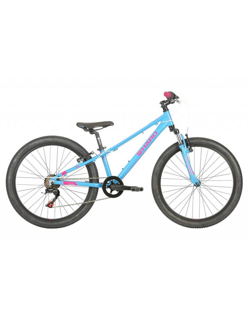 HARO FL24 SKY BLUE/NEON PINK - Solon Bicycle