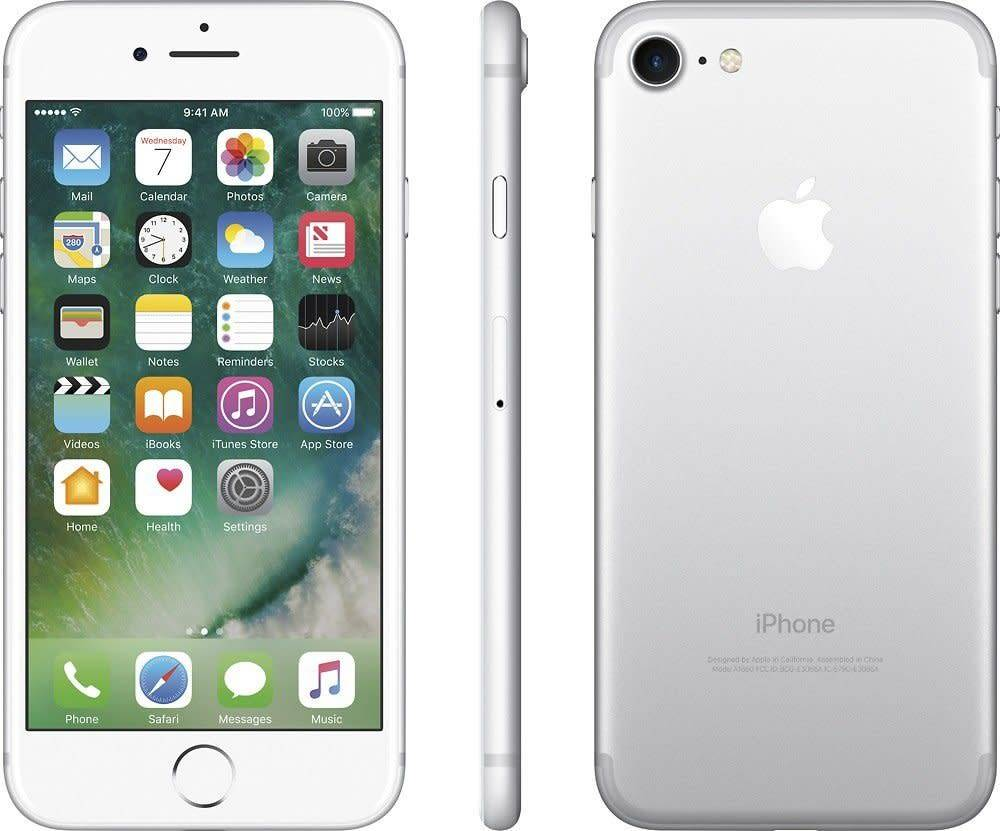 Smartphones Cowboy Wholesale Corp Nuu F1 Apple Iphone 7 256gb Silver Rb A Stock