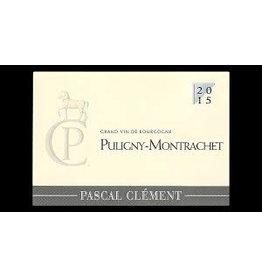 Charming Pascal Clement Puligny Montrachet 2015