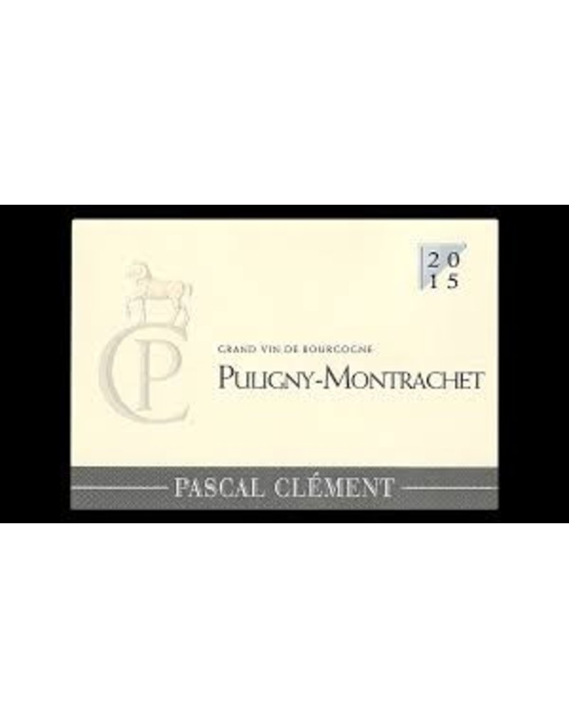 Charming Pascal Clement Puligny Montrachet 2015
