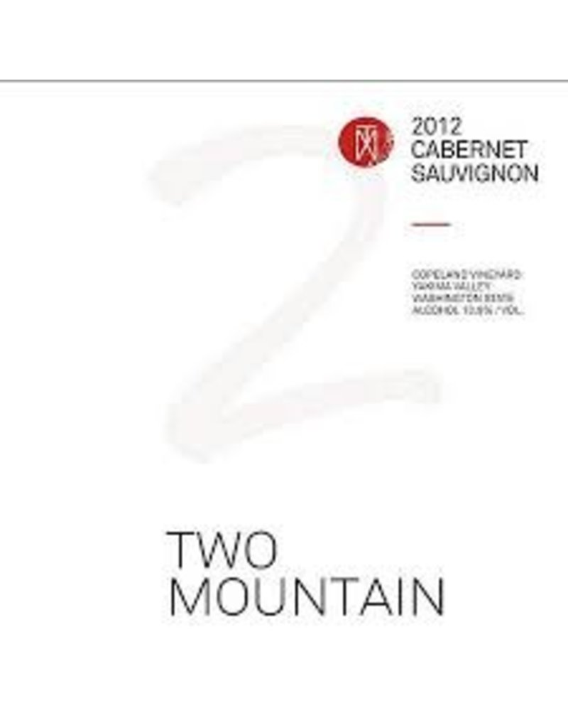 Intense Two Mountain Winery Cabernet Sauvignon