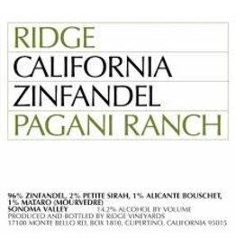 Elegant Ridge Pagani Ranch Zinfandel