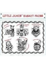 Elegant Little James' Basket Press Red