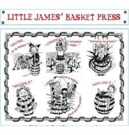 Elegant Little James' Basket Press Red
