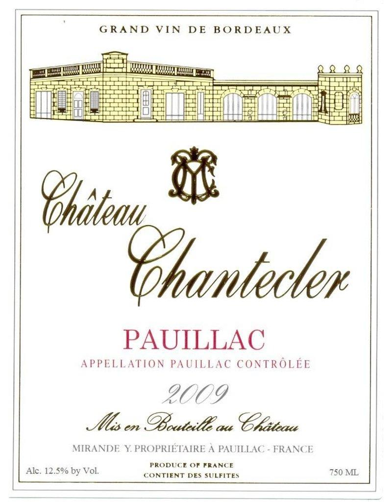 Elegant Chateau Chantecler Pauillac 2011