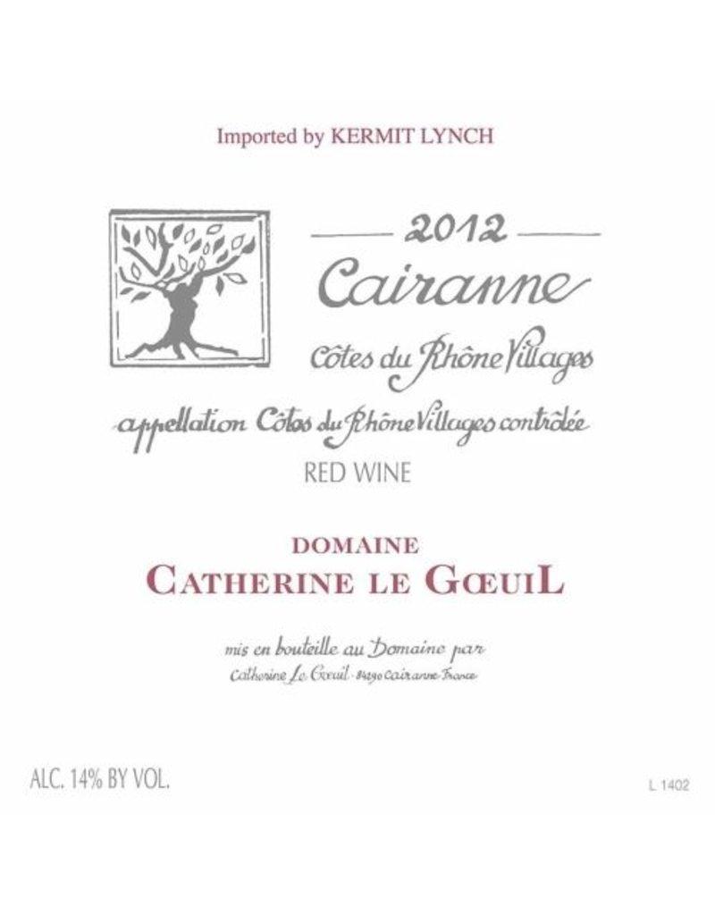 Elegant Domaine Catherine le Goeuil Carianne Cotes Du Rhone Villages