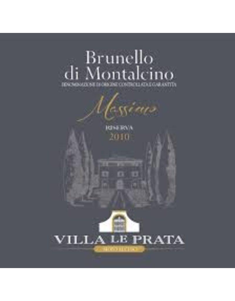 """Cellar Villa le Prata Brunello di Montalcino """"Massimo,"""" 2007"""