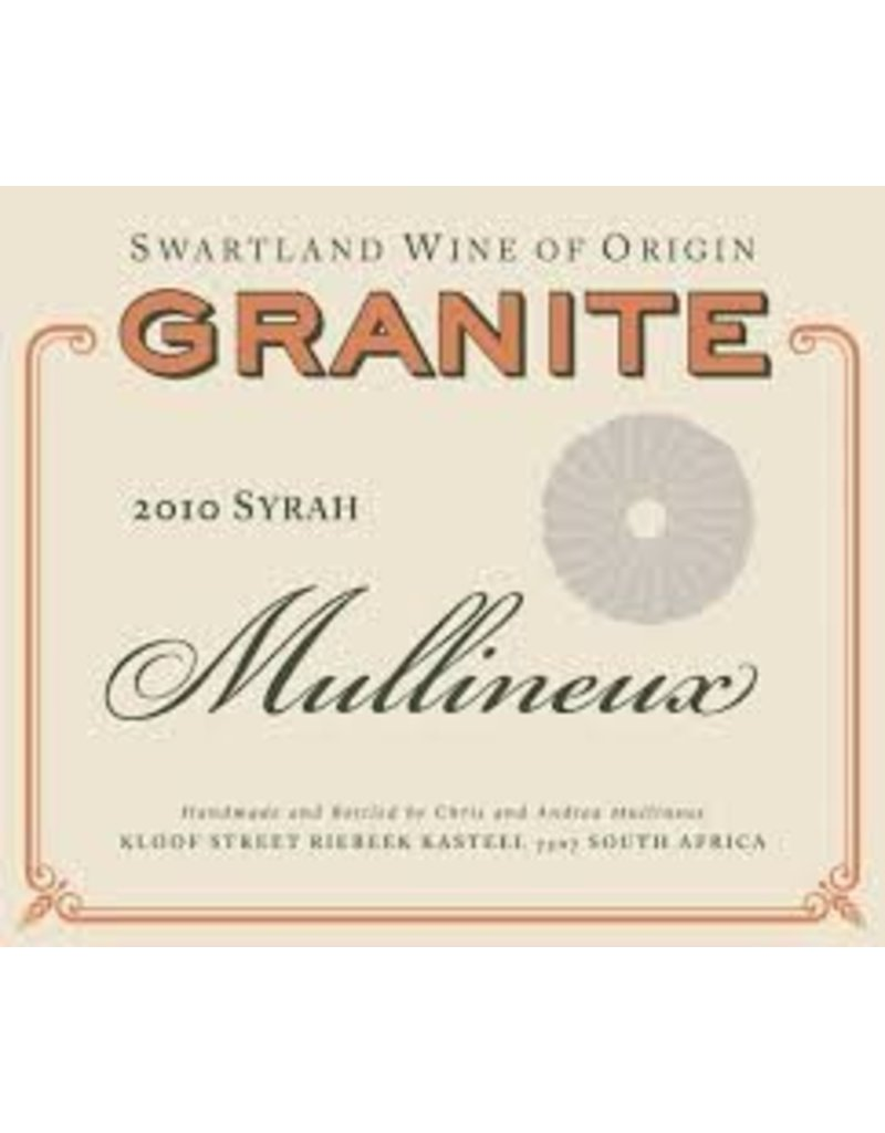 Cellar Mullineux Granite Syrah, South Africa, 2010