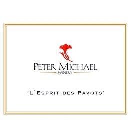 """Cellar Peter Michael """"L'Esprit des Pavots"""" 2014"""