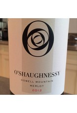 Cellar O'Shaughnessy  Howell Mountain Merlot 2012