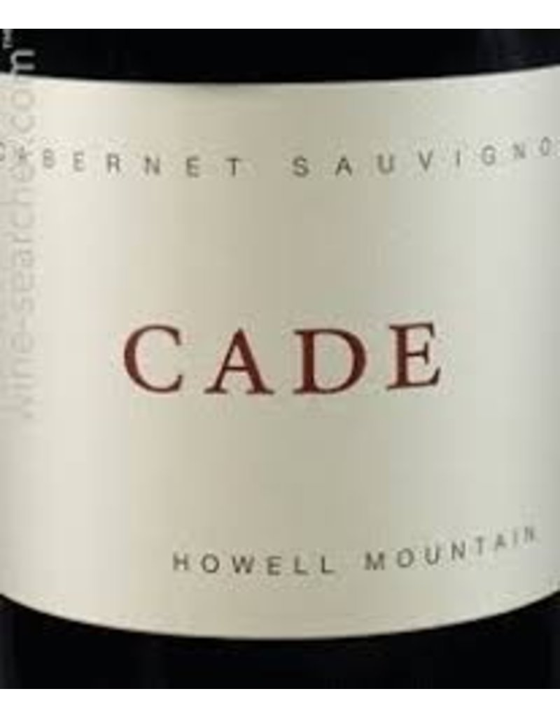 Cellar CADE HOWELL MOUNTAIN CABERNET SAUVIGNON, 2012