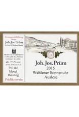 Cellar JJ Prum Wehlener Sonnenuhr Riesling Auslese 2015