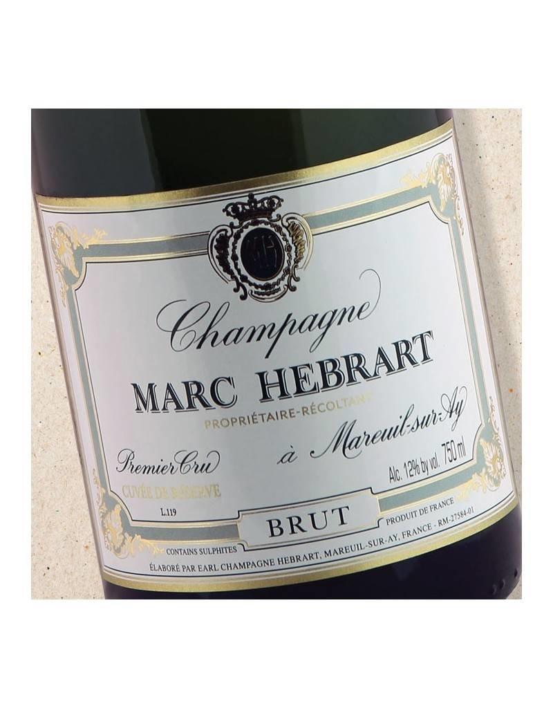 Vivacious Marc Hebrart Cuvee de Reserve Champagne