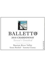 """Innocent Balletto """"Teresa's Unoaked"""" Chardonnay"""