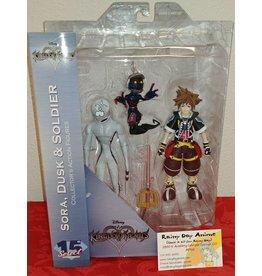 Sora, Dusk and Soldier Figure Set