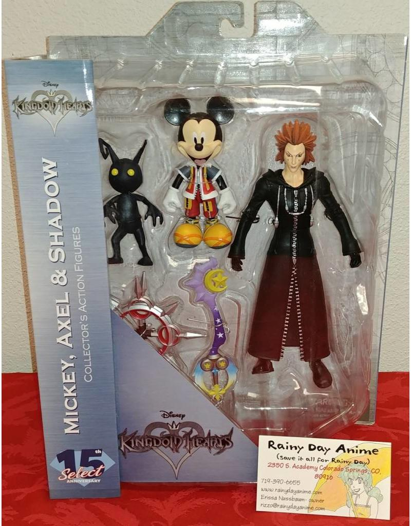 Kingdom Hearts Micky, Axel and Shadow Figure 5833