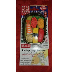 Eraser Set, Sushi Box 3429