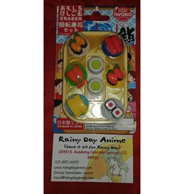 Eraser Set, sushi go round