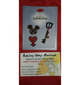 Kingdom Hearts Lapel Pins