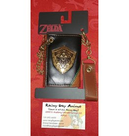 Zelda Hyrulian Shield Metal Wallet