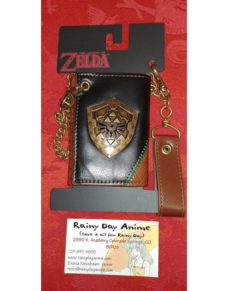 Zelda Hyrulian Shield Metal Wallet