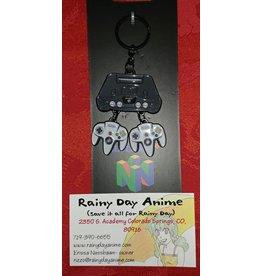 Nintendo 64 Metal Keychain