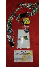 Super Mario ? Block Lanyard