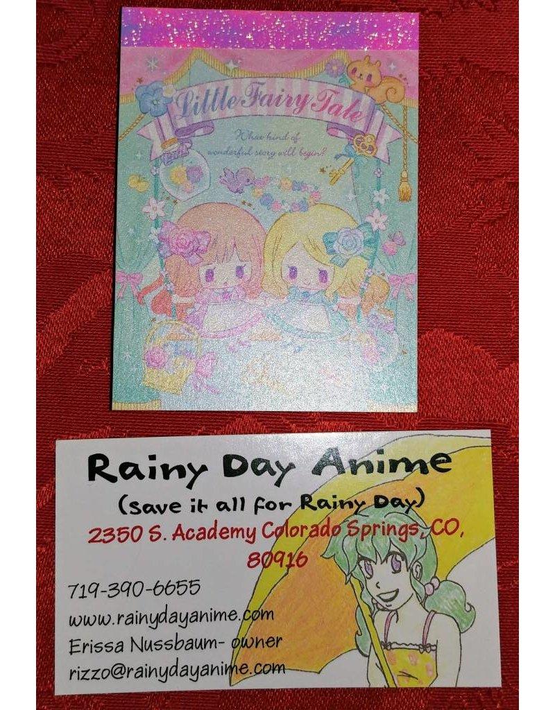 Kamio Little Fairy Tail Notepad