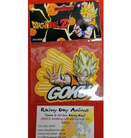 DBZ Goku Sticker