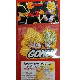 DBZ Goku Sticker