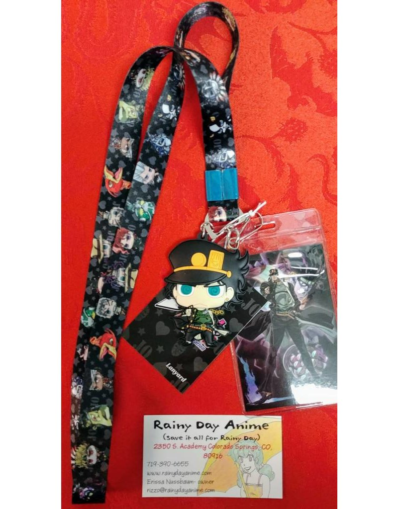 JoJo's Bizarre Adventure  Group Lanyard
