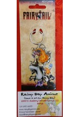 Fairy Tail Natsu Fire Metal Keychain