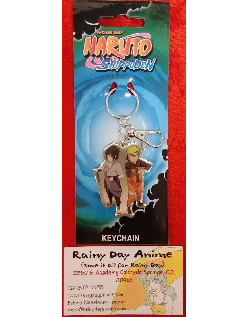 Naruto/Sasuke Metal Keychain