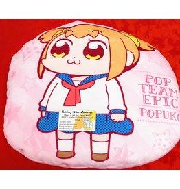 Pop Team Epic Popuko Pink Pillow