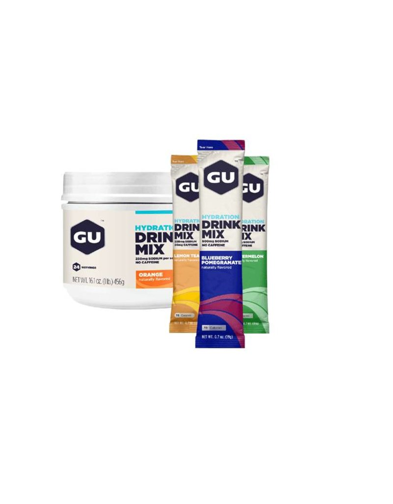 GU Energy Labs GU Hydration Drink Mix E Brew Electrolyte - Stick Pack Single Serve