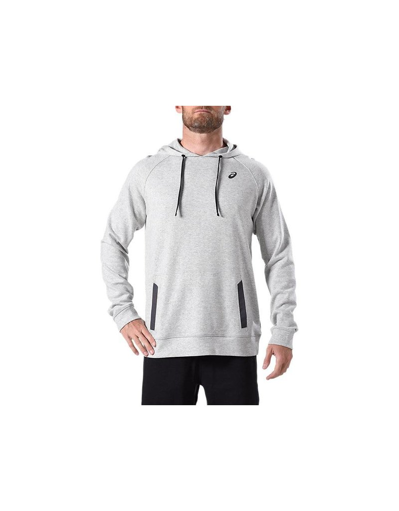 Asics Asics M Over Head Hoodie, Grey