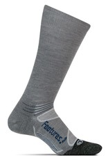 Feetures Feetures Elite Merino+ Light Cushion Crew Gray/Pacific Blue