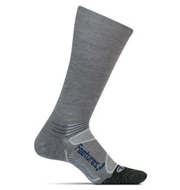 Feetures Feetures Elite Merino+ Light Cushion Crew Gray/Pacific Blue