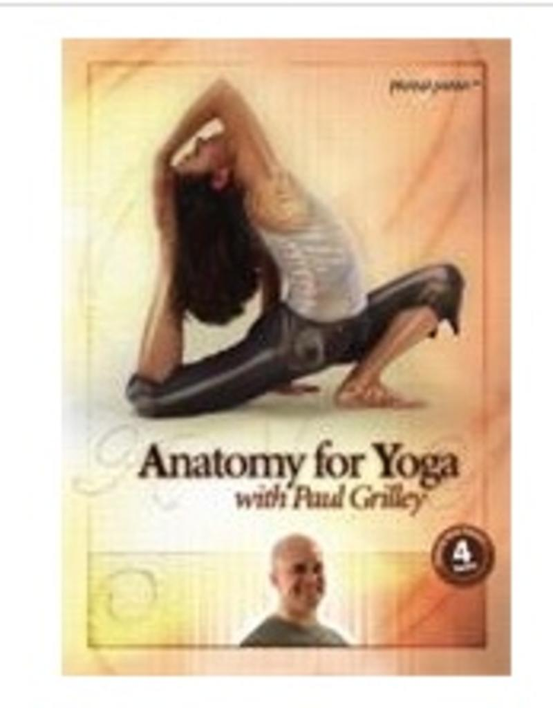 Anatomy for Yoga DVD: Grilley (300 Thera) - Asheville Yoga Center