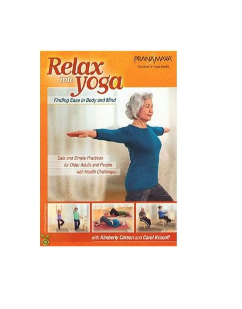 DVD Relax Into Yoga for Seniors