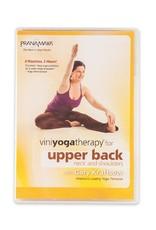 DVD Viniyoga for Upper Back, Neck, Shoulders