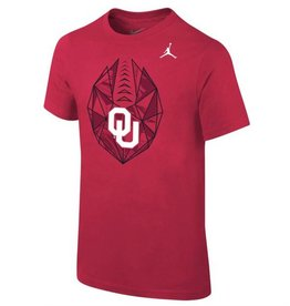 Jordan Childs Nike Football Icon Tee Crimson