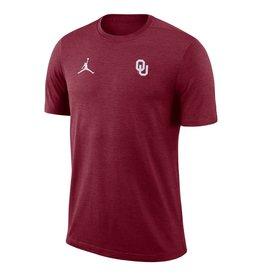 Jordan Men's Jordan Brand OU Coaches Dry Top Short Sleeve Tee