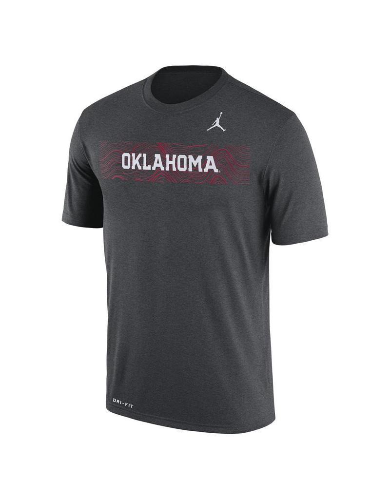Jordan Men's Jordan Oklahoma Sideline Legend Tee