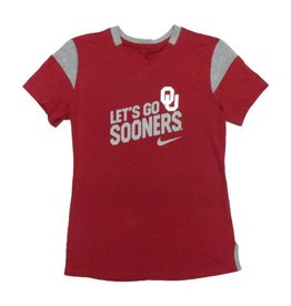 Nike Youth Nike Let's Go Sooners V-neck