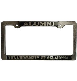 Strand Alumni Pewter License Plate Frame