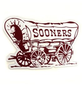 "SDS Design Sooner Schooner Car Magnet 5.5""x8"""